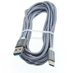 10FT LONG TYPE-C USB CABLE FAST CHARGE USB-C WIRE CORD for L