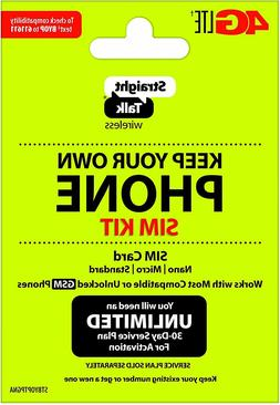 Bring Your Own Phone  SIM Kit - Straight Talk/TracFone