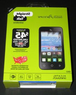 """New Sealed Straight Talk Alcatel OneTouch Pixi Eclipse 4"""" 2G"""