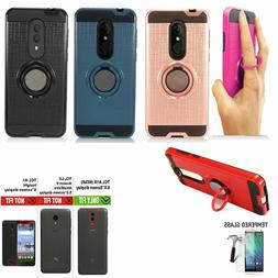 Phone Case For Straight Talk Alcatel TCL A1X Dual-Layered Co